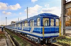 В Самару после ремонта вернулись шесть вагонов метро