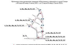 На ул. Бакинской до 9 июля будет ограничено движение из-за ремонта теплотрассы