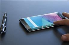 Samsung Galaxy S6 Edge: экран обратной вогнутости