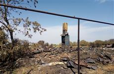 По крупным пожарам в Борском районе возбуждены уголовные дела
