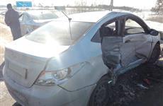 В ДТП в Тольятти пострадала пассажирка иномарки