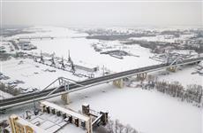 Фрунзенский мост временно закрыт для пешеходов