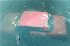 В Волге у Тольятти обнаружена машина, вероятно, утонувшая после дрифта