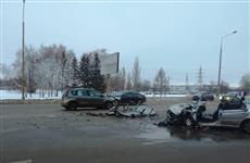 В результате столкновения двух автомобилей в Тольятти пострадали шесть человек