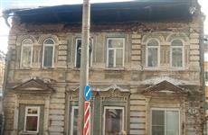 Из-за снега обрушилась кровля дома на ул. Водников
