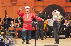 В филармонии состоялся творческий вечер Сергея Каныгина