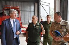 Виктор Кудряшов оценил готовность лесного хозяйства области к ликвидации лесных пожаров