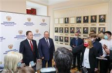 Полпред Президента РФ в ПФО и врио губернатора Пензенской области ответили на вопросы представителей СМИ