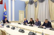 Дмитрий Азаров и Михаил Жданов обсудили развитие промышленного сектора экономики