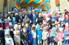 В чувашском селе Урмаево открылся детский сад на 110 мест