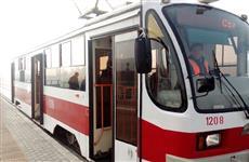 В Самаре появилась новая остановка для автобусов и трамваев на ул. Тухачевского