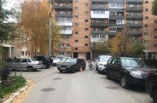 """Молодой самарец на """"девятке"""" сбил велосипедиста во дворе дома по ул. Черемшанской"""