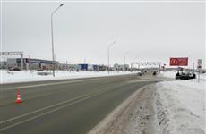 В Самаре на Южном шоссе столкнулись три иномарки, пострадал ребенок