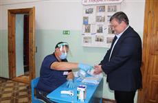 В районах Пензенской области активно идет голосование по внесению поправок в Конституцию