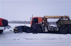 В Самарской области столкнулись КамАЗ и легковушка, один человек погиб
