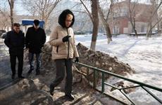 В Железнодорожном районе Самары благоустроят дворы и очистят наледь