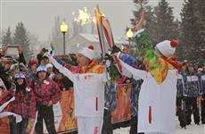 Тольятти встретил эстафету олимпийского огня Сочи-2014
