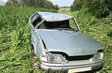 Госпитализирована пассажирка ВАЗа, перевернувшегося в кювет в Красноармейском районе