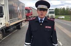 В Сызранском районе столкнулись шесть грузовиков, есть пострадавшие