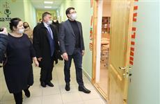 """Глеб Никитин проверил реализацию программы капремонта школ и нацпроекта """"Образование"""""""