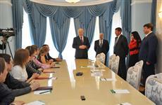 Губернатор и ректор Санкт-Петербургского университета вручили дипломы студентам СамГТУ