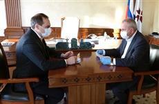 Артем Здунов обсудил с министром сельского хозяйства Мордовии перспективы развития отрасли