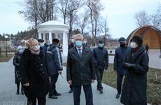 Губернатор проверил качество благоустройства в городе Никольске