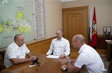Денис Паслер встретился с начальником Самарской таможни