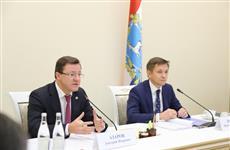 Дмитрий Азаров и Константин Носков провели совещание по развитию информационных технологий