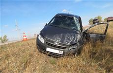 В Пестравском районе погиб пассажир съехавшей в кювет легковушки
