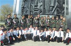 В Нефтегорске традиционно выступили лучшие военно-патриотические клубы и отряды губернии