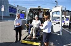 Центры соцобслуживания населения Чувашии получили 30 новых автомобилей