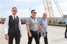 Дмитрий Азаров проверил строительство транспортной развязки на трассе М5 в Тольятти