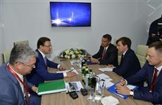 """Развитие пивоваренной отрасли обсудили на встрече губернатор и президент компании """"Балтика"""""""