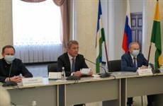 """Радий Хабиров: """"Принимайте быстрые решения по размещению производств на территории ОЭЗ """"Алга"""""""
