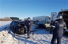 Два человека погибли и еще трое пострадали в ДТП в Сызранском районе