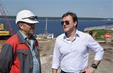 Дмитрий Азаров оценил ход строительства Волжского моста