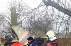 В Подмосковье рухнул самолет самарского производителя