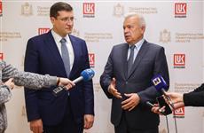 Глеб Никитин и Вагит Алекперов обсудили ход реализации инвестпроектов в Нижегородской области