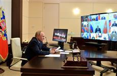 Владимир Путин пожелал избранному Главе Мордовии Артему Здунову успешной работы