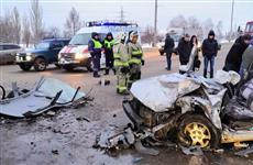 В Тольятти четыре человека пострадали при столкновении Nissan и Kia