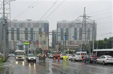 Из-за аварии на водоводе у Ботанического сада частично перекрыто Московское шоссе