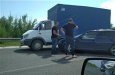 В Сызранском районе из-за ДТП на М-5 образовалась многокилометровая пробка