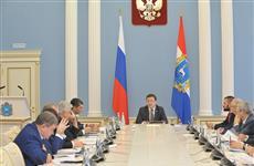 Губернатор встретился с представителями региона в российском парламенте