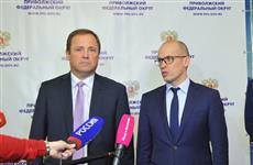 Удмуртию с рабочим визитом посетил полпред президента РФ в ПФО Игорь Комаров