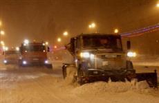 Прошедший в Самаре снегопад - самый обильный за всю зиму