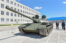 К 75-летию Победы военнослужащие Йошкар-Олинской ракетной дивизии восстановили танк, много лет украшавший парк в столице Марий Эл