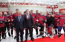 Дмитрий Азаров принял участие в открытии ледовой арены в Похвистнево