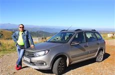 5500 км на Lada Granta с роботом: покорить горы и искупаться в море