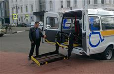 """Микроавтобусы, оборудованные подъемниками """"Силач"""" и кондиционерами, уже работают в районах Нижегородской области"""